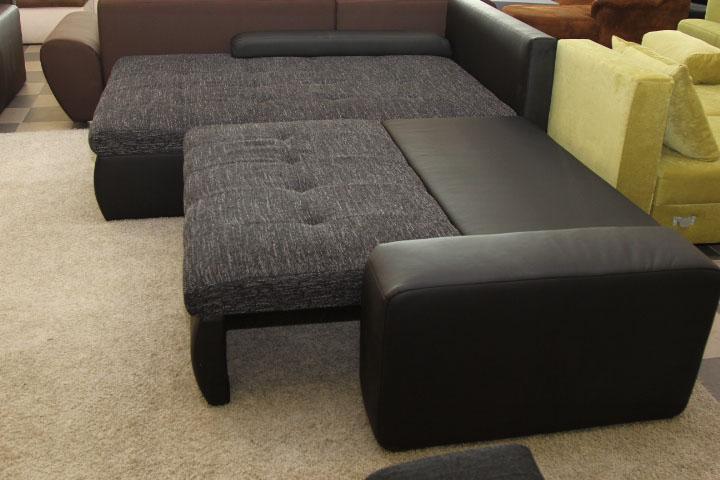 Cecil xl ülőgarnitúra, zsákszövet, ágyazható, ágyneműtartós