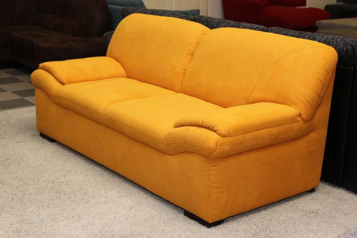yellow 69 kanapé, rugós és szivacsos kárpitozással
