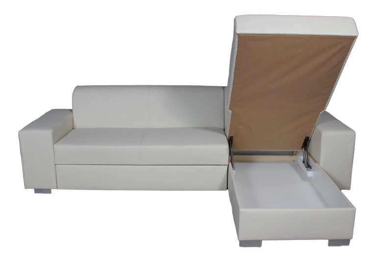 LF160413 Minőségi műbőr sarok ülőgarnitúra