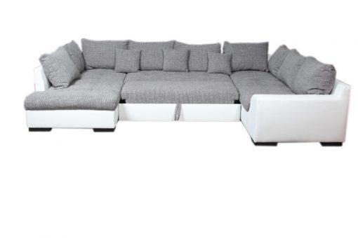 U ülőgarnitúra zsákszövet, ágyazható, ágyneműtartós